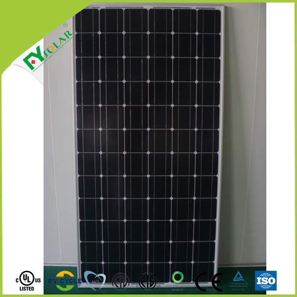 monocrystalline 190w to 210W solar panel price for China supplier