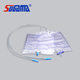 Medical urine bag 2000 ml with T-valve
