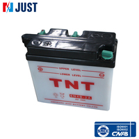 Rechargeable 4ah (10hr) standard dry charged motorcycle battery 6v