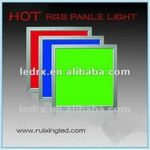 2012 HOT SALE Office Dimmer Control RGB LED Panel Light 20W 600x600