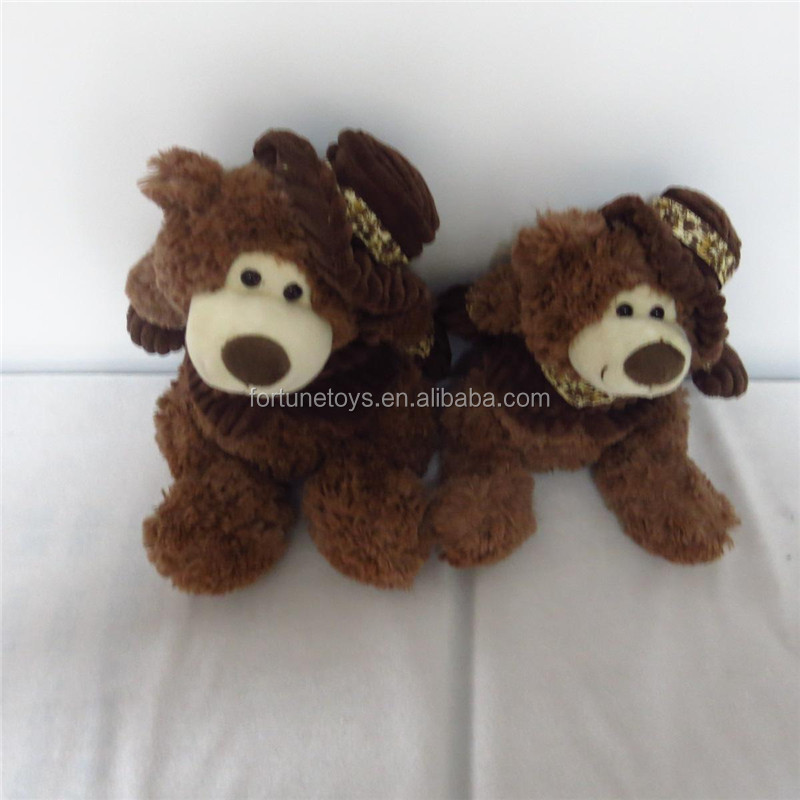 ICTI Factory Soft Plush Bear Toy Stuffed <strong>Animal</strong> Cheap Price