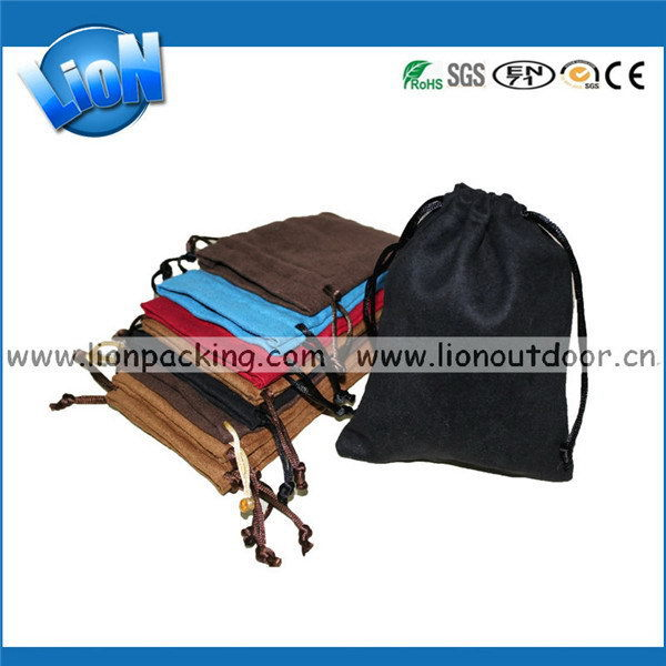 Newest professional alibaba suede fringe bags