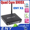 ENY-X1 Amlogic S905X Android 6.0 TV Box Kodi 16.0 HD 4K2K output Quad Core 2G/16G Android Smart TV Set Top Box