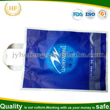 Moisture-proof hand bag /shopping bag for clothes packaging