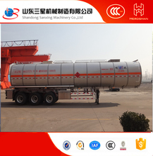 CHINA Factory, carton stainless steel Crude / Crude Oil Tanker Trailer/Semi trailer
