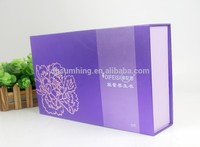 velvet gift box with printing exquisite decorative with printing as per your request