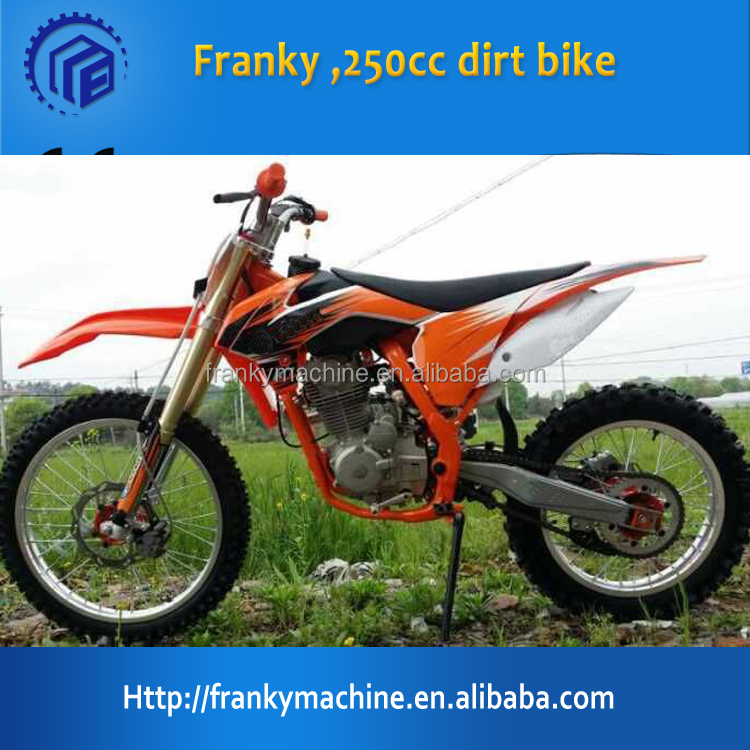 Factory 250cc dirt bike kawasaki dirt bike