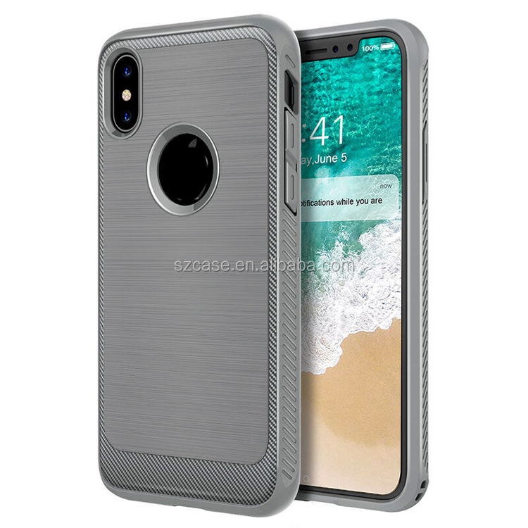Free Shipping High QualityTPU Shockproof Drawing Design Mobile Phone Cover Case for Iphone X