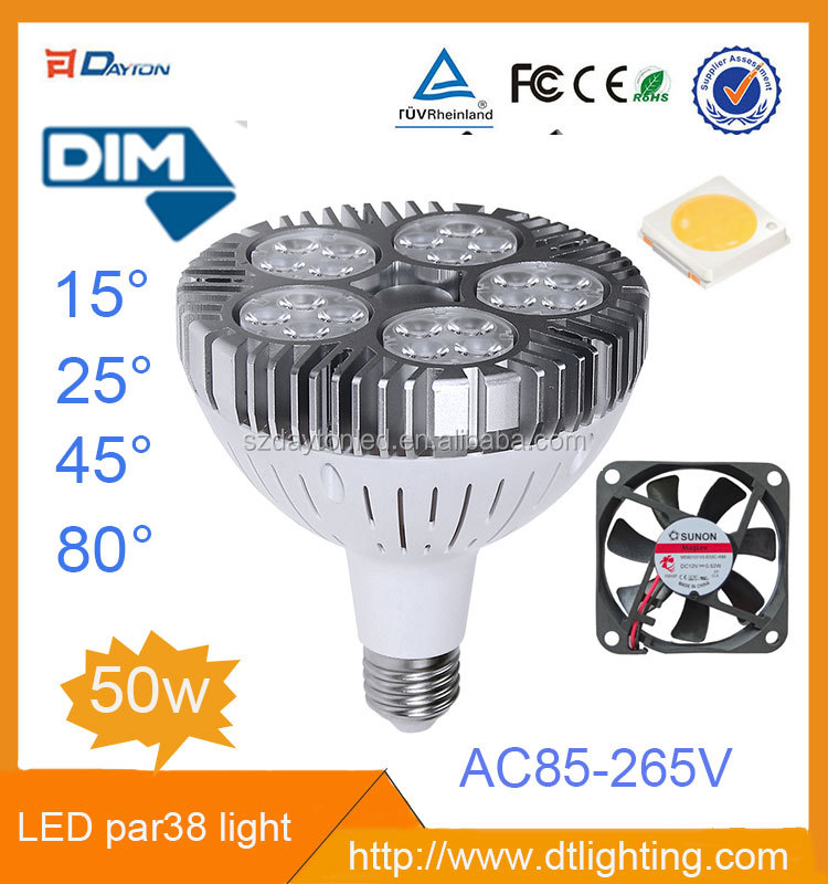 Par 38 LED 5000K Par38 LED Grow Light 9W 12W 15W 18W LED Bulb E27