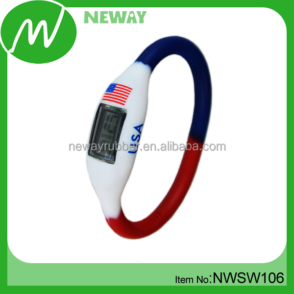 Cheap Promotional Item Silicone Watch Sport