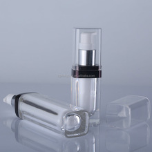 100ml round shape acrylic cosmetic Plastic Lotion Bottles container