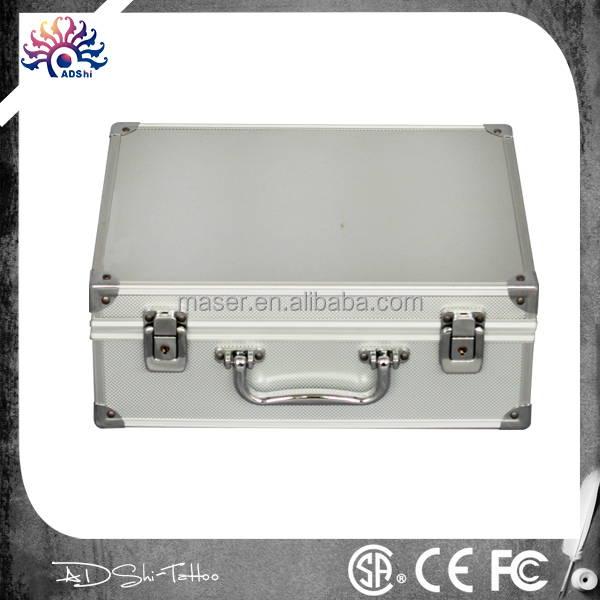 manufacturer selling aluminum portable makeup case,tattoo tools carrying cosmetic case