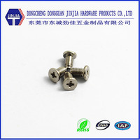 m3 galvanized cross recessed small countersunk head screws