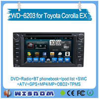 TOYOYA corolla/camry/ Rav4 2000 20001 2002 2003 2004 car dvd player with gps navigation mp3 mp4 player car radio wifi with CE