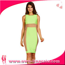 sleeveless wholesales lady bandage dress 2013