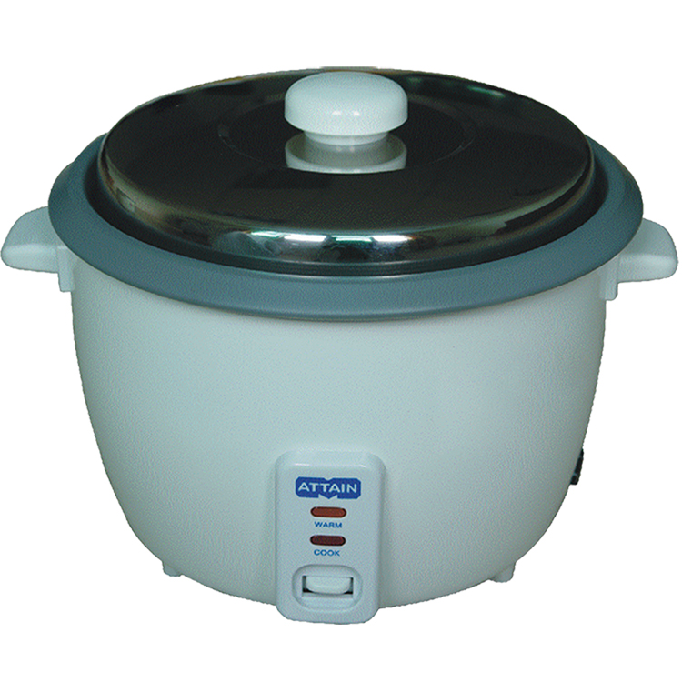 Removable black color non-stick coating inner pot gas commercial rice cooker