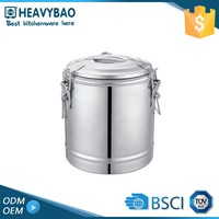 Heavybao Top Quality Stainless Steel Satin Polishing Hot Water Pot