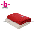 2018 cheap soft best quality quick easy chunk knit blanket wholesale