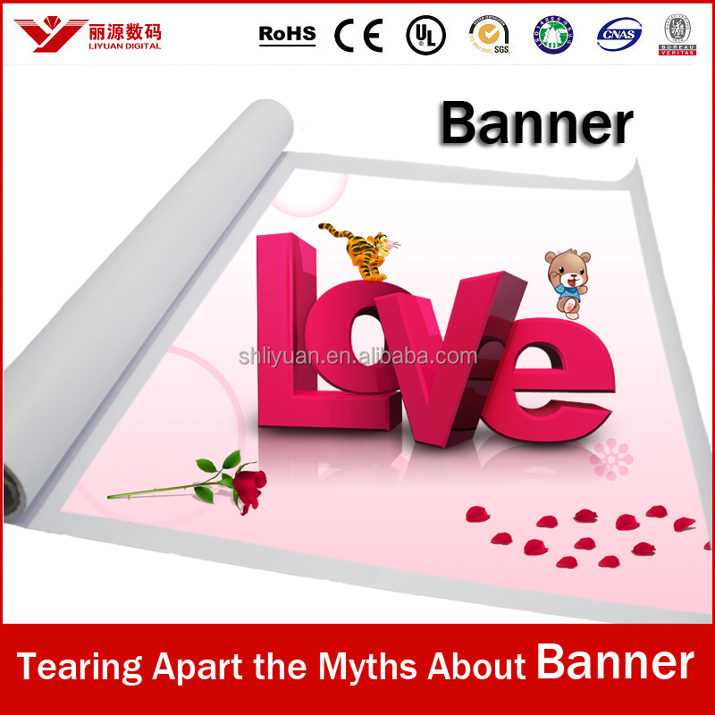 solvent digital printing banner, printing banner, banner printing machine