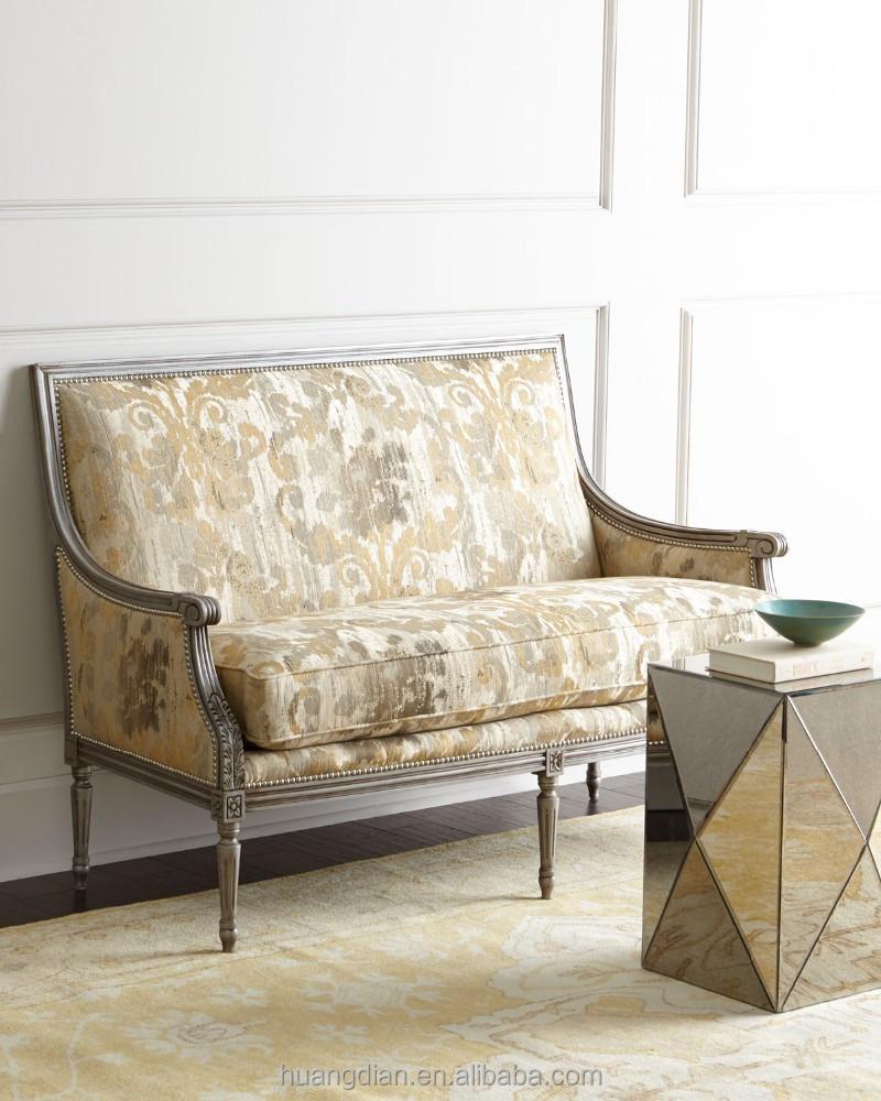Retro Antique Sofa Ethiopian Furniture Wholesale Couches