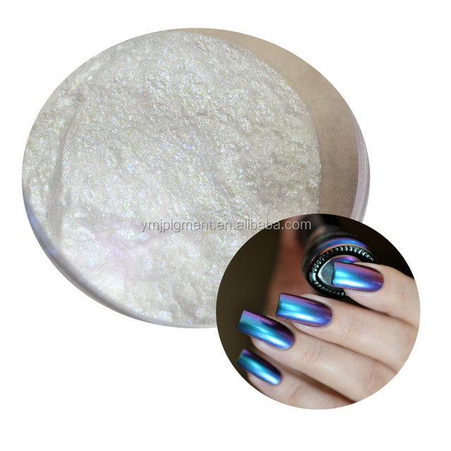 Cosmetics Nail Gel Polish Optical Visual Chameleon Pigments
