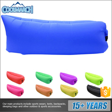 Factory direct sale inflatable lounger bed inflatable air sofa