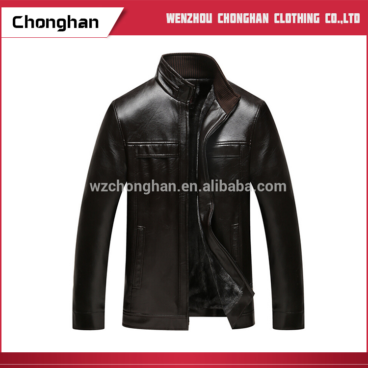 Chonghan Wholesale Cheap Man Leather Cotton Jackets Importer In Germany