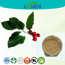 High Quality and 100% Real Asiatic Cornelian cherry Fruit Extract