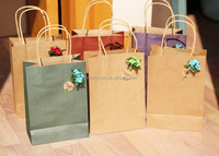 Promotional custom logo printed cheap paper bag project shop bags