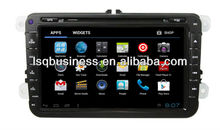 LSQ Star Wholesale 8 Inch Vw Golf 5/ Golf 6 Autoradio Gps Navigation With Android 4.0 System 3g Wifi 4gb Flash Pip Dual Zone Bt