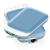 Universal 3G Wifi Router Dual USB Portable Camping Power Bank for iPhone 5 Ipad 4 Ipod