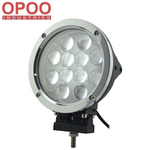 Top Hot Offroad 4X4 ATV 4D Fish Eye 7inch 60W Round 12V Led Work Light