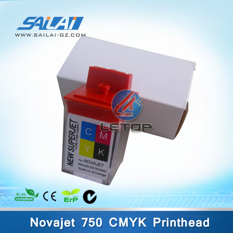High Quality!!! lecai novajet 750 printer 750 SLKJ CMYK Encad novajet printer printhead