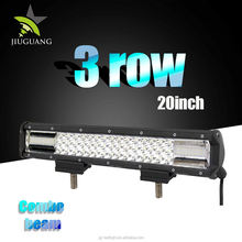 Wholesale Super Bright Waterproof Offroad Triple Row 126W 20 inch Led Light Bar