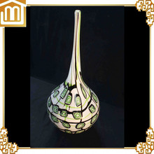 Modern mouth blown hanging glass vase made in China