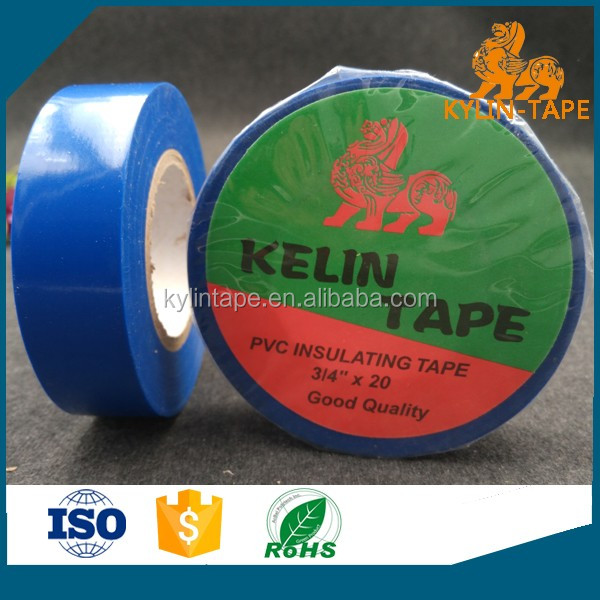 Mist side resistance low temperature shiny PVC electrical tape