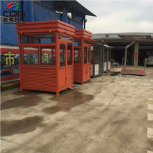 Chinese manufacturers prefabricated sentry box / security guard booth