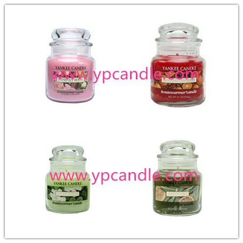 Yankee scented soy high quality glass candle