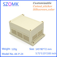 oem enclosure electronics abs plastics case for pcb board