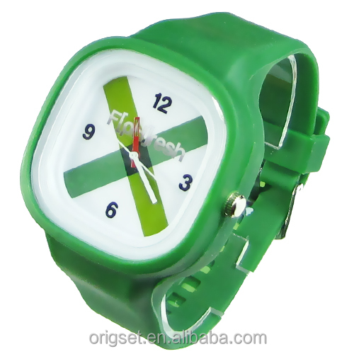 customized logo Japan movement Silicon Watch CE/ROHS passed quartz watches models