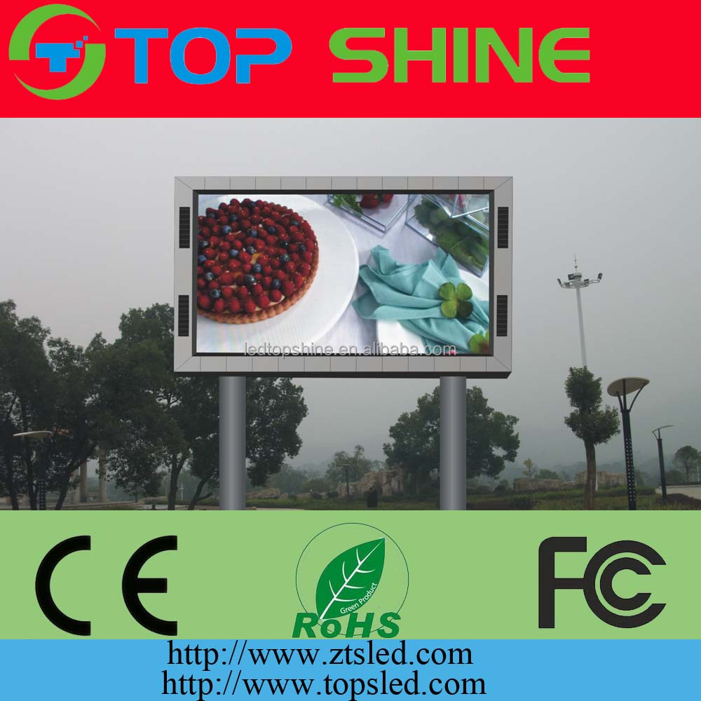 full color led outdoor display P4P5P6P8P10 SMD LED display module price