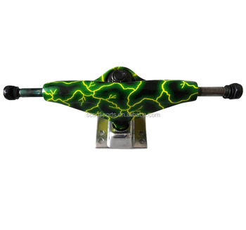 5 inch custom aluminum truck for longboard colorful painting