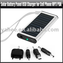Solar Cell Charger Panel USB Charger for Cell Phone MP3 PDA,YHA-PC112