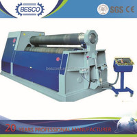 W11S-15*2500 sheet metal plate plate bending machine for bending corrugated plate