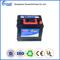 Maintenance Free High Quality DIN62 12v62ah MF car battery