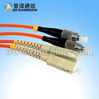 3M FC -SC Multimode Duplex Fibre Optic Patch Cord/Cable
