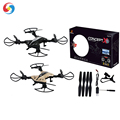 2018 Professional RC Drone with Camera WiFi Folding Quadcopter for Beginners & Kid RC Model Helicopter 3D Flips 6-Axis Gyro