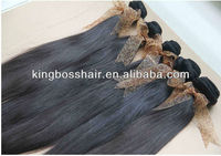 best selling virgin remy indian human hair weaving extention straight wave