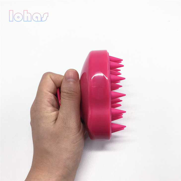 Best sell small animals brushes silicone long hair cat comb