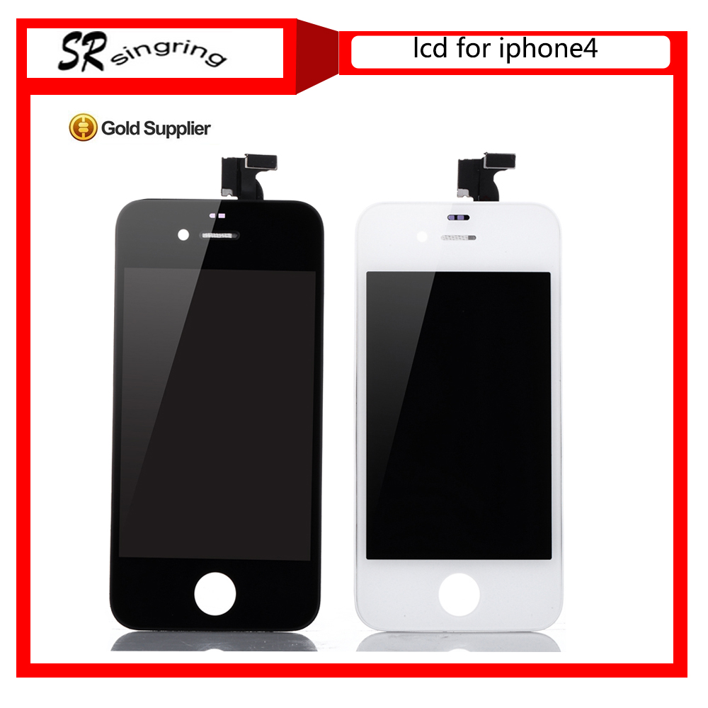 Alibaba express shenzhen wholesale high quality for iphone 4 lcd screen